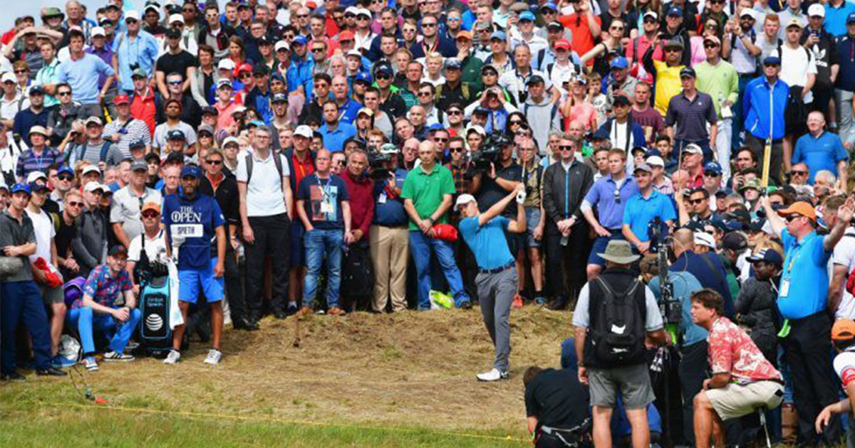 Jordan Spieth's 13th hole was one of the most bizarre in major history