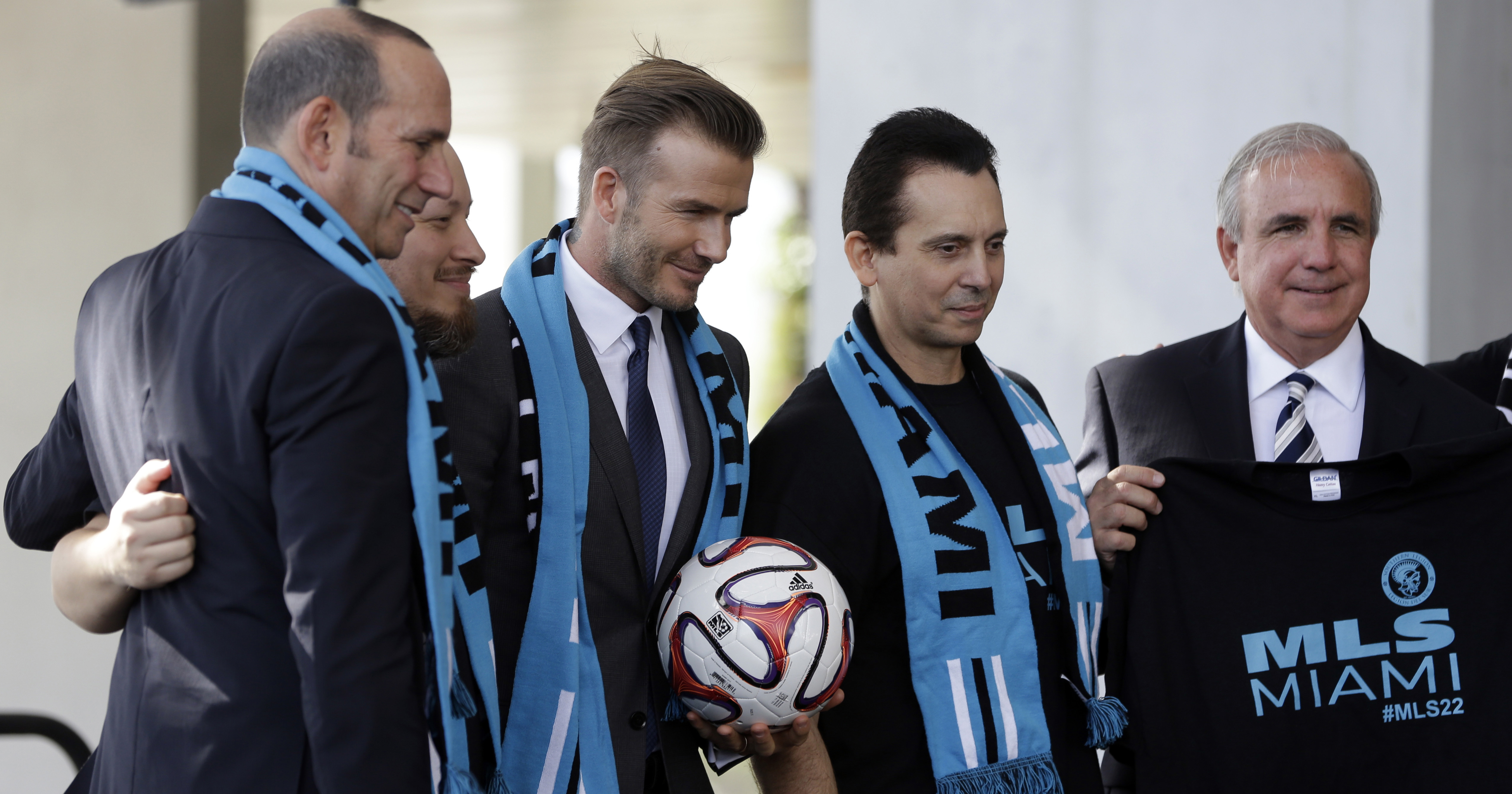 David Beckham might actually be getting his MLS team in Miami as his ownership..