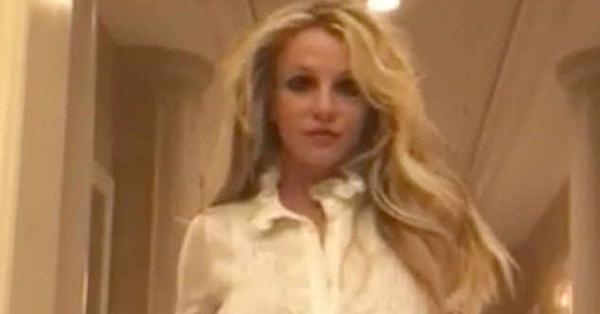 Britney Spears Rocks Baby One More Time Schoolgirl Look