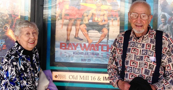 Zac Efron's Grandparents Are the Cutest Baywatch Fans Ever