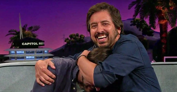 Ray Romano Helps Son Find a Date in James Corden's Audience