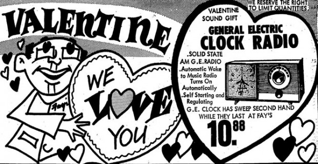 Can't buy me love: Vintage Valentine's Day ads from Syracuse newspapers