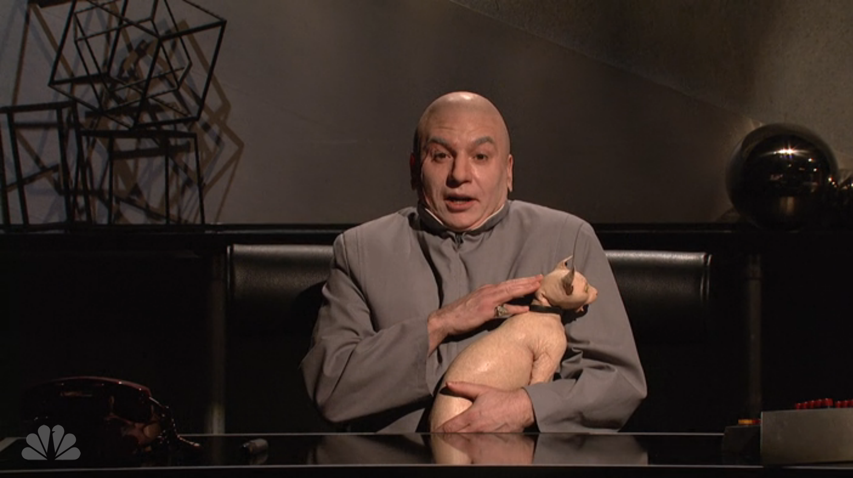 Mike Myers Returns to SNL as Dr. Evil To Make Fun of North Korea