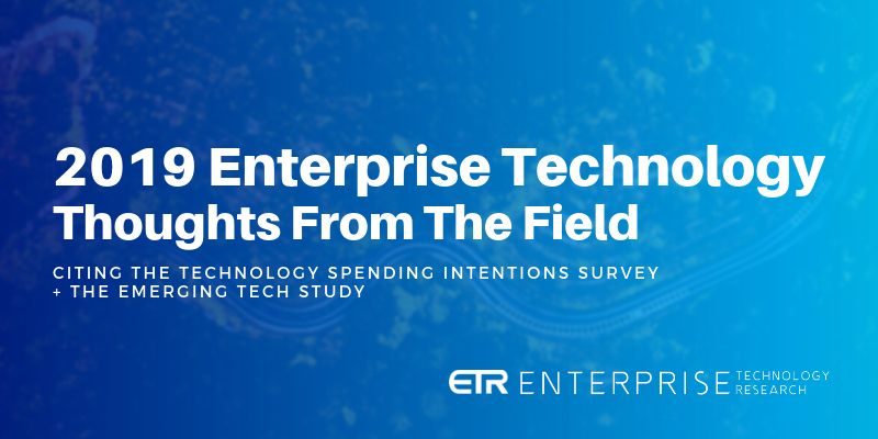 Thoughts from the Field | 842 CIOs Representing $350B+ in