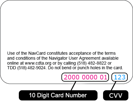Check balance of Navigator card