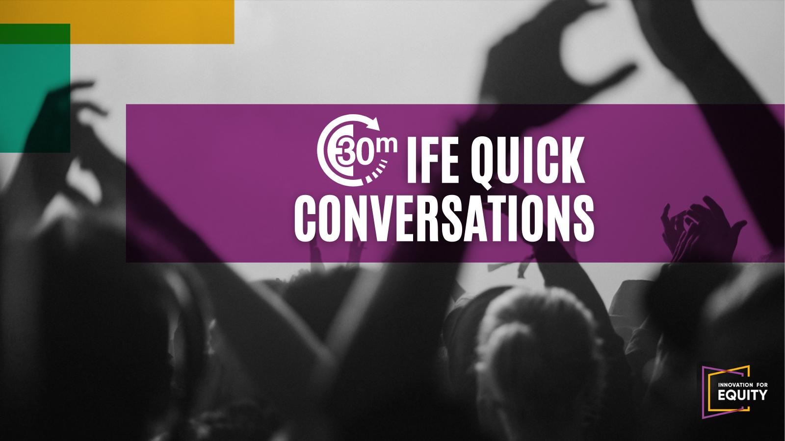 Quick Conversations: Equity in Education, Interrupted Learning, and More