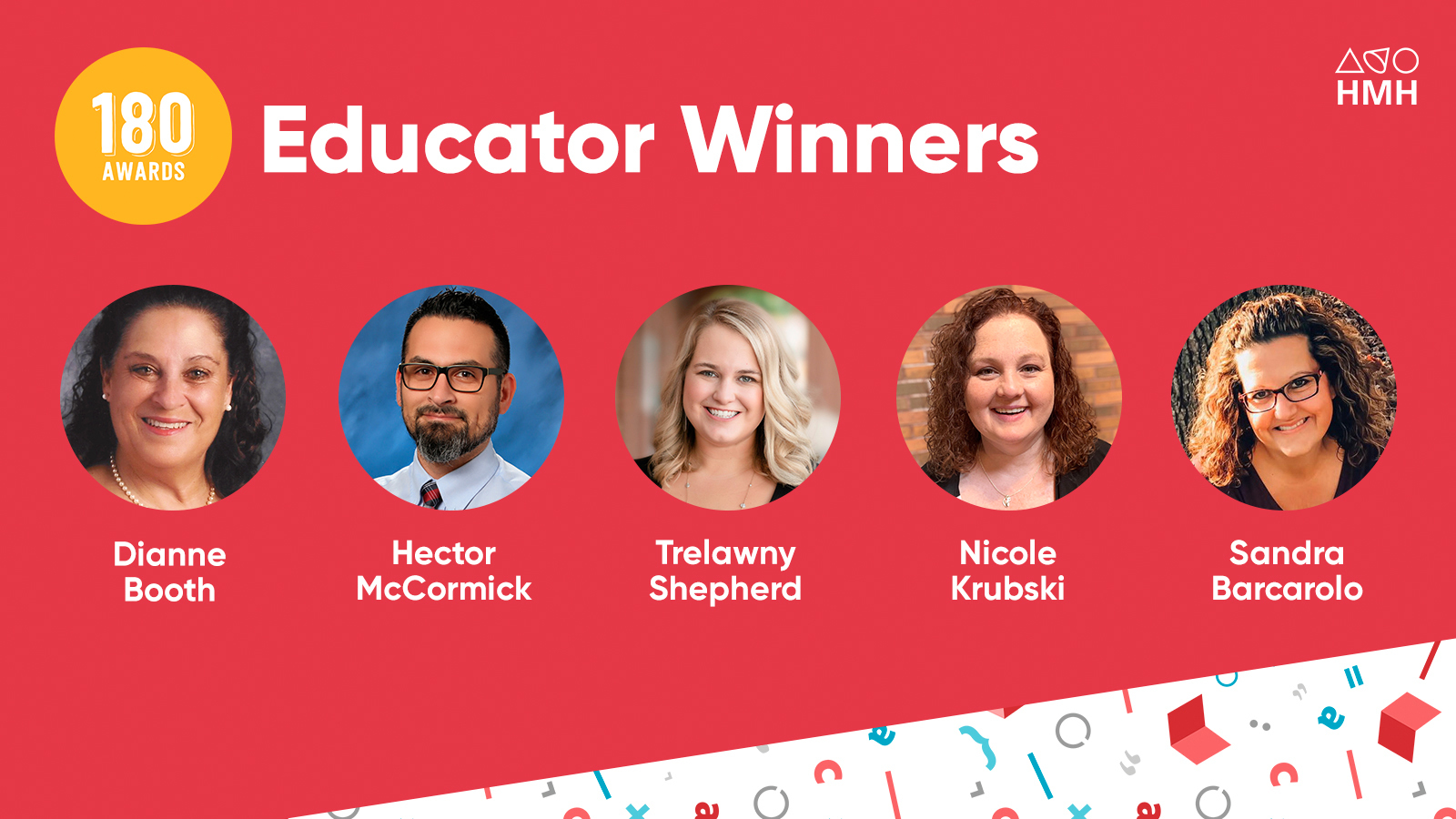 HMH Honors Five Educators Who Helped Striving Students Succeed