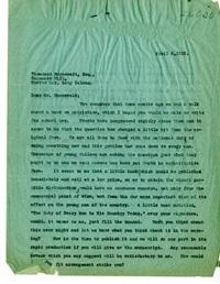 James Duncan Phillips Letter