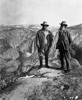 Teddy Roosevelt and John Muir