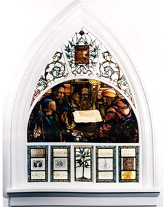 HMH Stained Glass Window