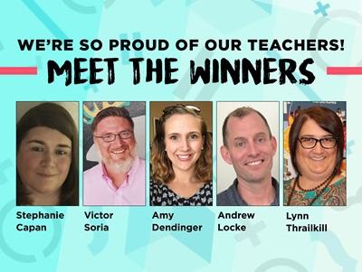 180 Educator Awards