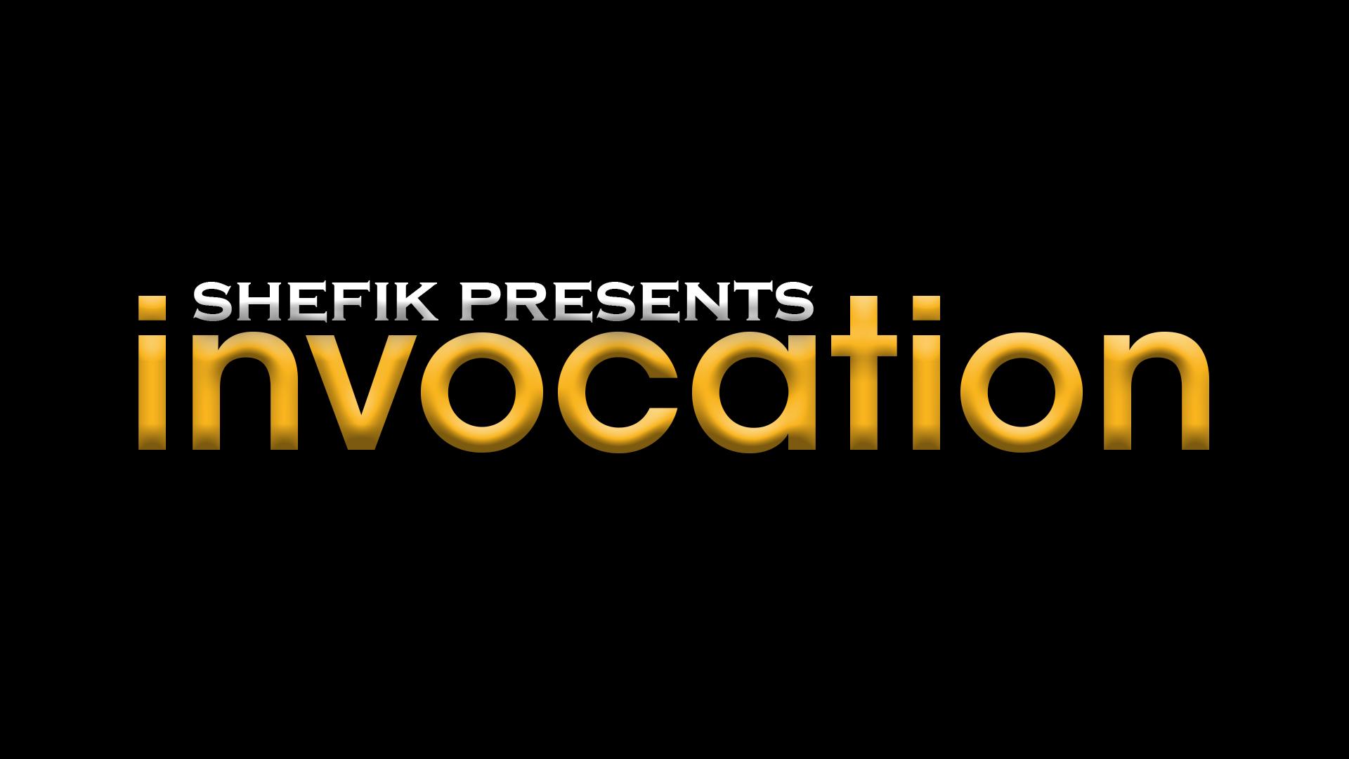 Shefik presents Invocation: Specials