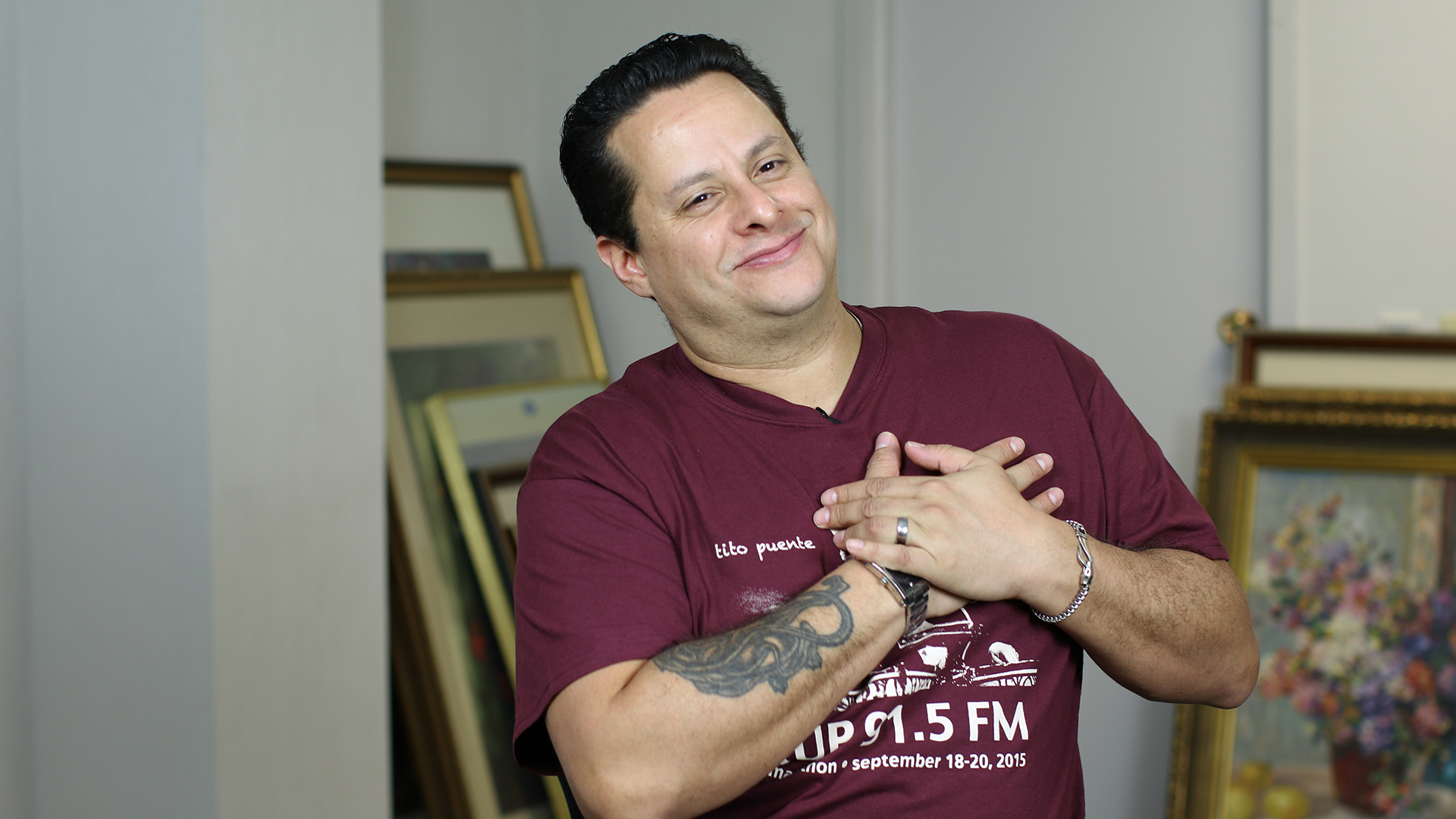 Tito Puente Jr.: You Have to Find Happiness in Being Grateful — Photo Credit: Shefik