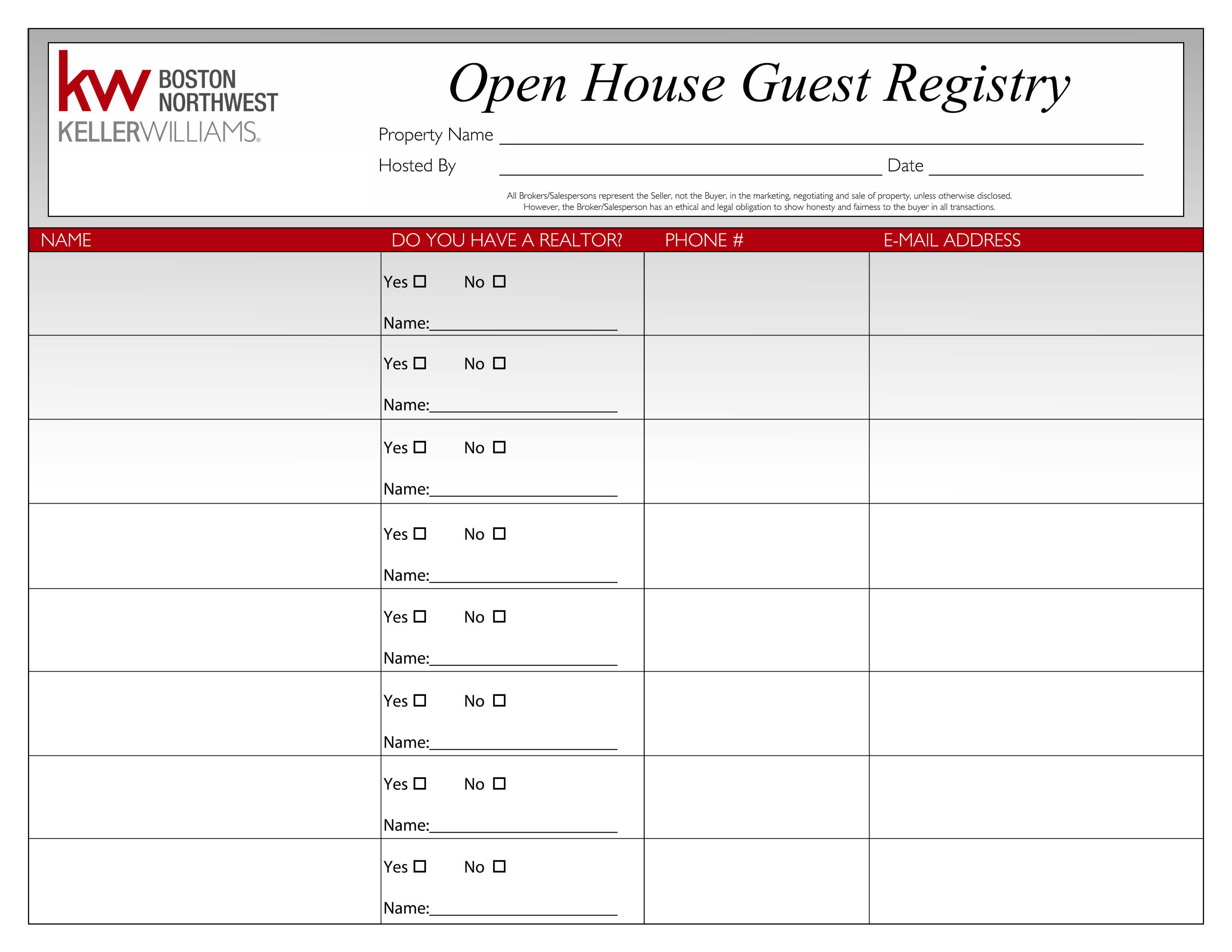 photograph regarding Real Estate Open House Sign in Sheet Printable named Welcome in direction of KWConnect!