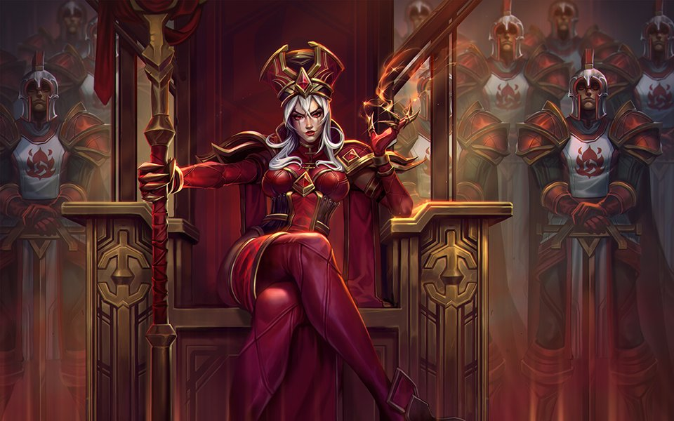 High Inquisitor Whitemane in Heroes of the Storm
