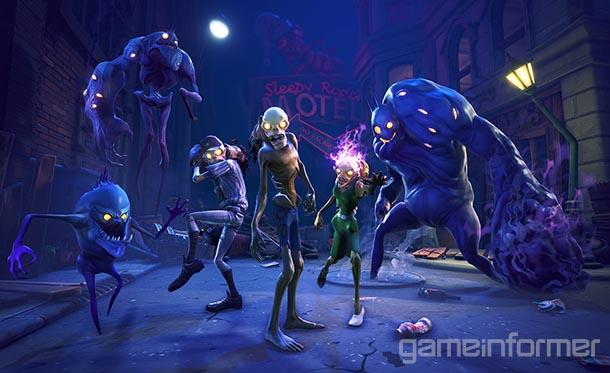 The Monsters Of Fortnite Game Informer