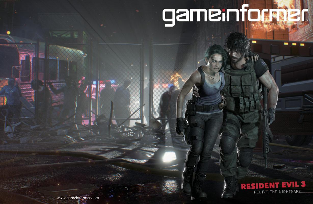 Cover Reveal Resident Evil 3 Game Informer