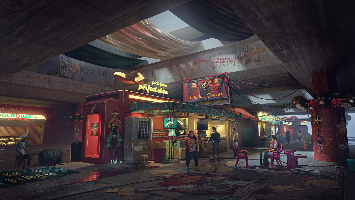 Cyberpunk 2077: City of dreams