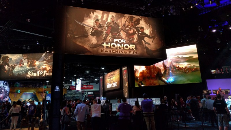 Also at Ubisoft: Apparently For Honor is still a thing!