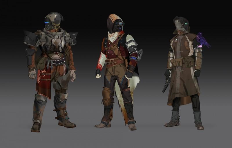 Destiny 2 Armor Concept Art