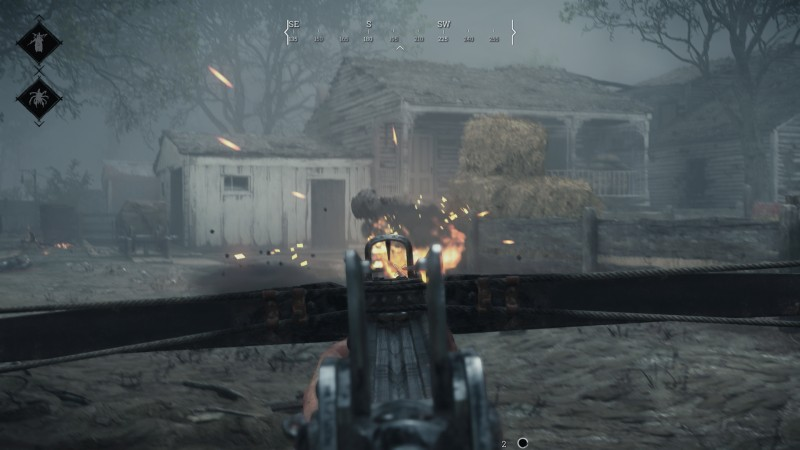 The explosive crossbow is one of three new crossbows.