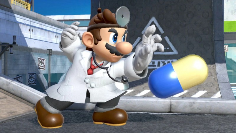 Even Dr. Mario couldn't heal his own ailment: gigantic, pulsating crab hand.
