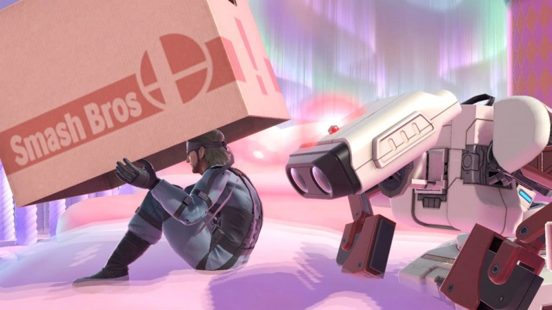 Before Snake got ahold of it, R.O.B. spent years in that box in an attic, so he knows all of its corrugated secrets.