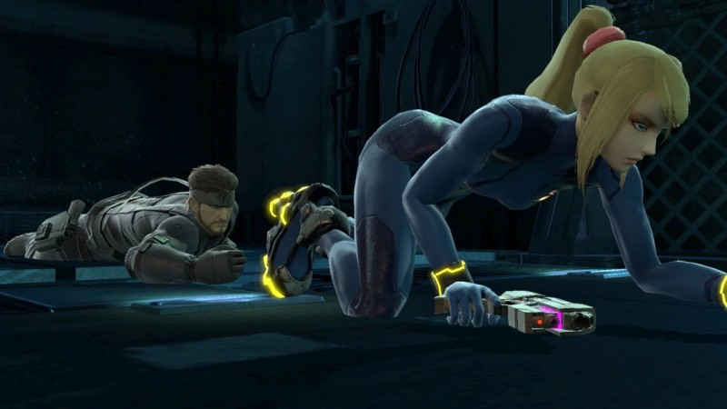 We wish we were Snake, but only if Zero Suit Samus was also Snake.