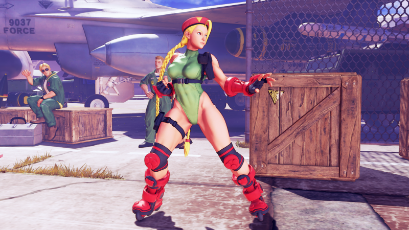 Cammy's Cannon Spike Costume from Fighting Chance.