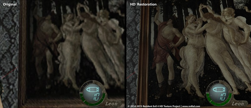 Hands-On With The Biggest Resident Evil 4 Graphics Mod Of