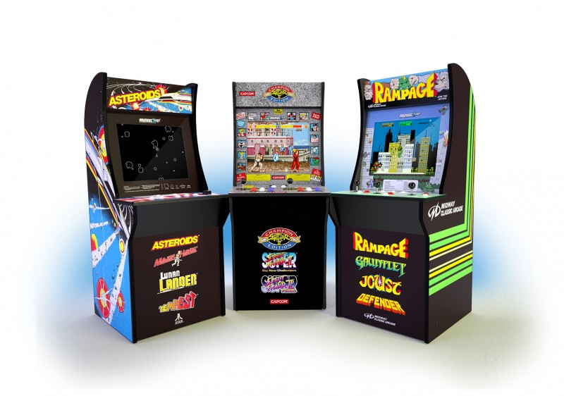 Outstanding Arcade1Up Aims To Bring Classic Arcade Cabinets Into Your Download Free Architecture Designs Rallybritishbridgeorg