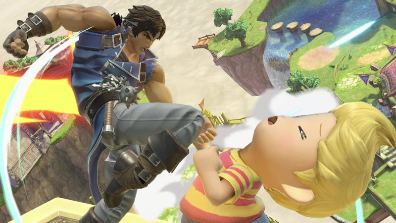 You know, Lucas probably deserves this. Also, what's going on with Richter's foot?