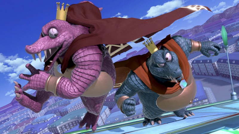 What's better than one K. Rool? Two. Two of them. Drown me in thiccness, sire.