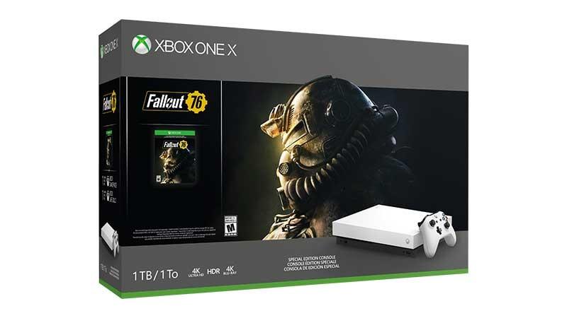 Fallout 76 Xbox One X Bundle