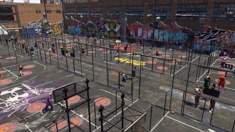 Touring Nba 2k19 S New And Improved Neighborhood Game