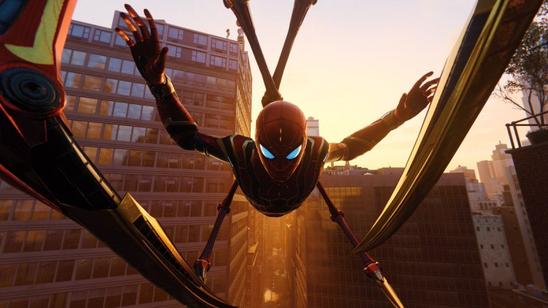 Here Are The Best Photo Mode Pictures Of Spider Man Game Informer