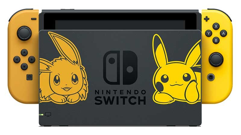 Pokémon Let's Go Eevee, Pokémon Let's Go Pikachu, Switch bundle,