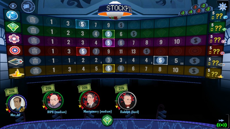 Digital Board Game Spotlight – Stockpile