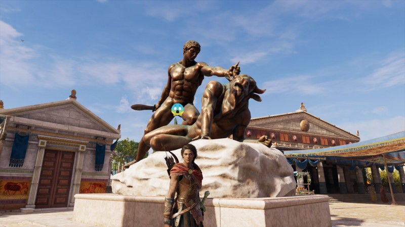 Funny To A Point – My Big Fat Greek Assassin's Creed Odyssey Photo Tour