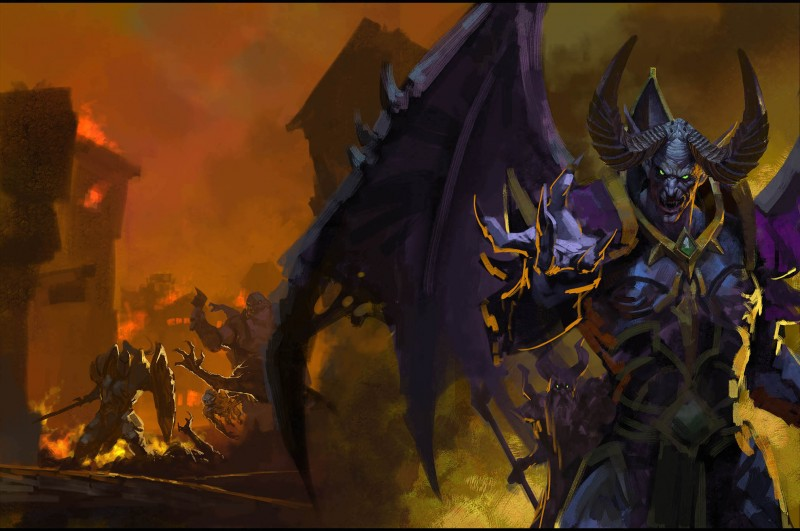 The Making Of Game Informer S Warcraft Iii Reforged Cover Game