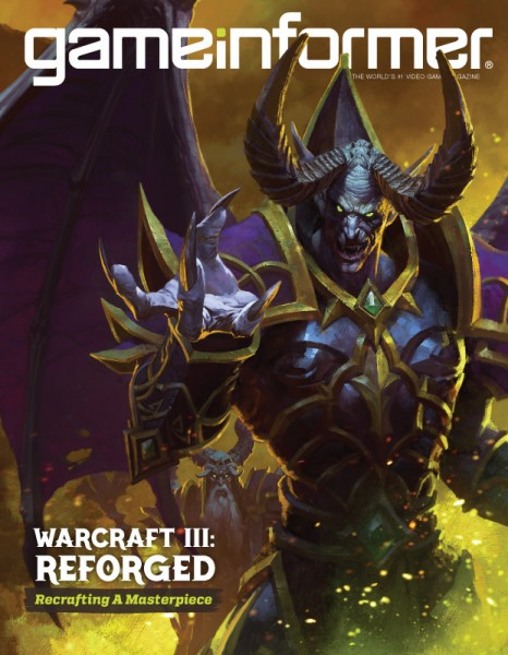 December Cover Revealed - Warcraft III: Reforged - Game Informer