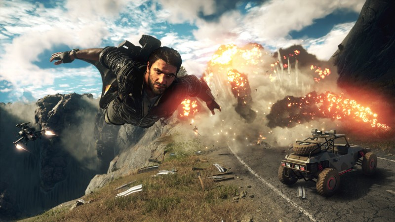 Just Cause 4 review screens
