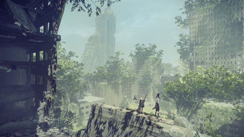 Talking To Yoko Taro Platinumgames Takahisa Taura And Composer Keiichi Okabe About Life Death And Opportunity Game Informer