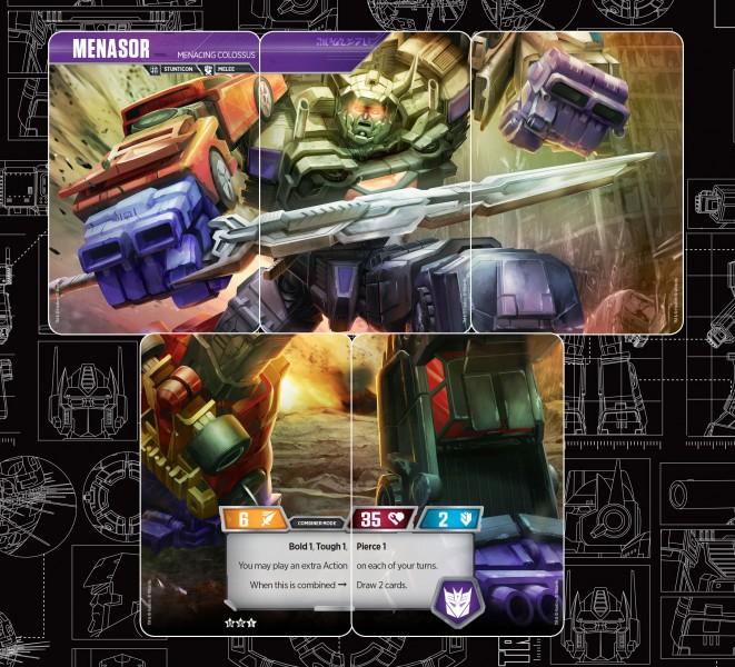 Exclusive Transformers Trading Card Game Reveal - Menasor