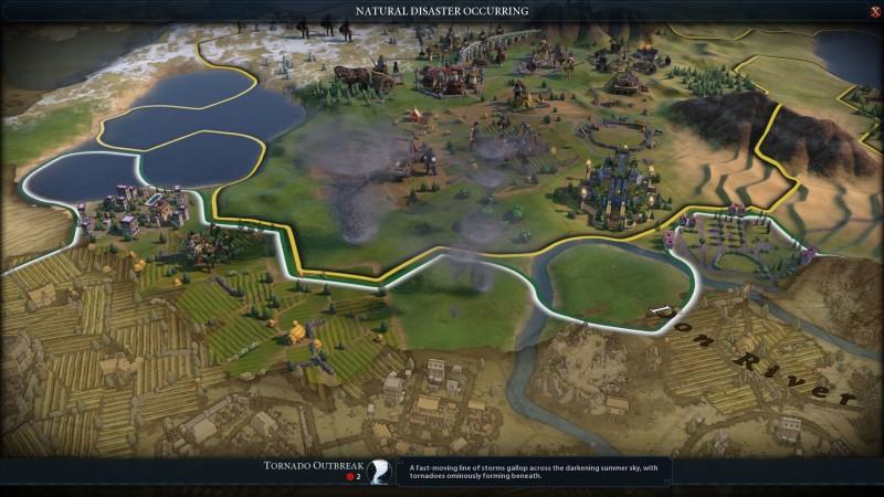 Civilization VI: Gathering Storm Review – Taking The Planet