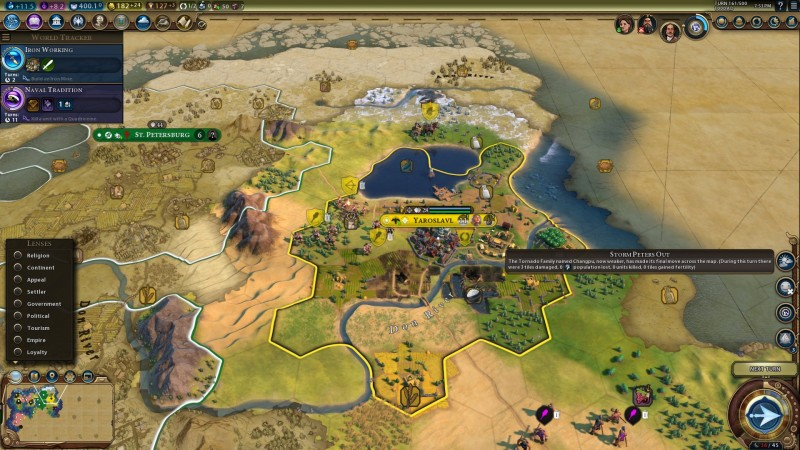 Fighting The Storm In Civilization VI's Next Expansion