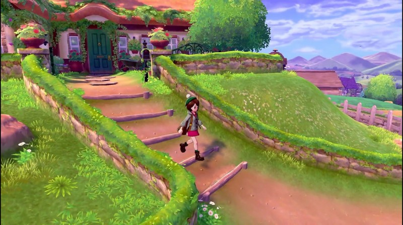 Get Your First Look At The Region And Starters Of Pokemon Sword And