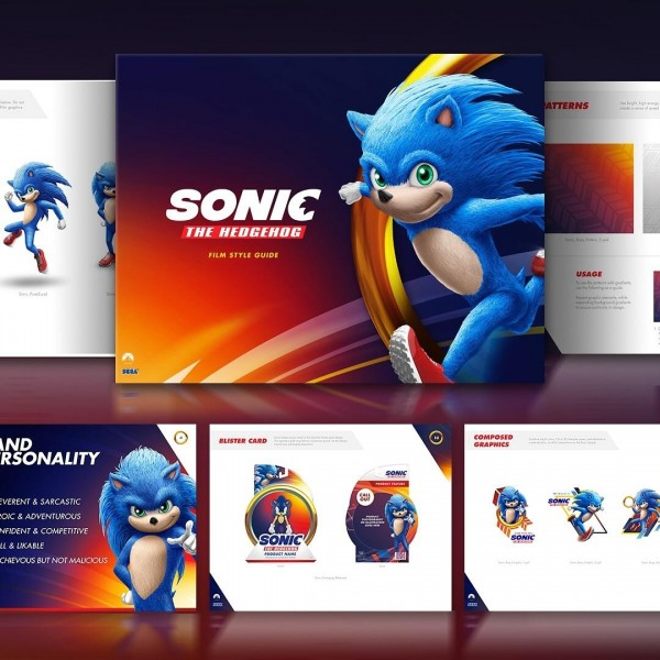 Sonic The Hedgehog Style Guide Gives Possible First Glimpse At Movie Design Game Informer