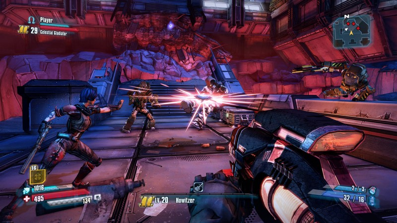 Borderlands 2 and The Pre-Sequel Receiving Free Visual Update