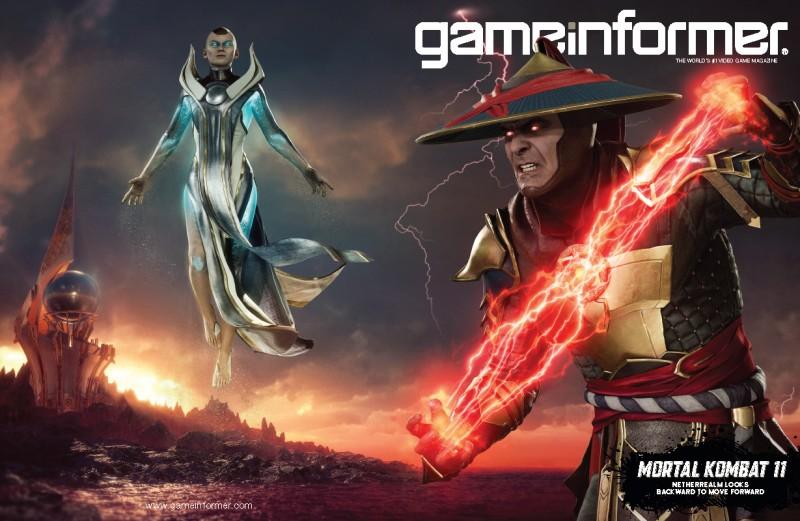 May Cover Revealed – Mortal Kombat 11 - Game Informer